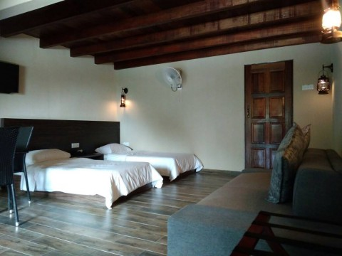 4 pax Villa (2 single bed)